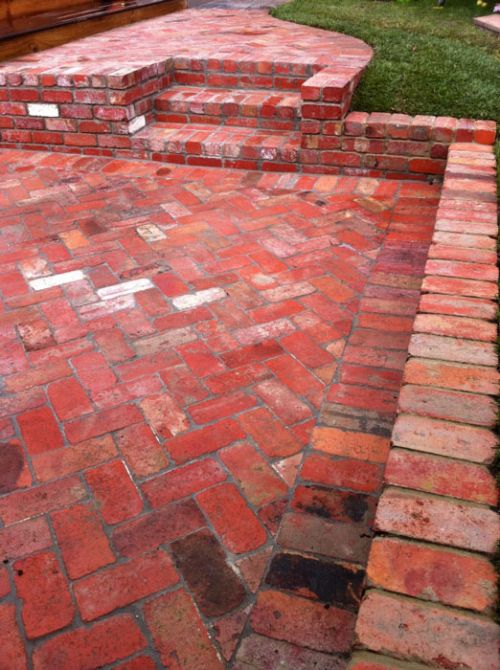 19 Clay Bricks Paths And Patios Clay Brick Association